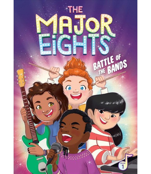 Battle of the Bands -  (Major Eights) by Melody Reed (Hardcover) - image 1 of 1