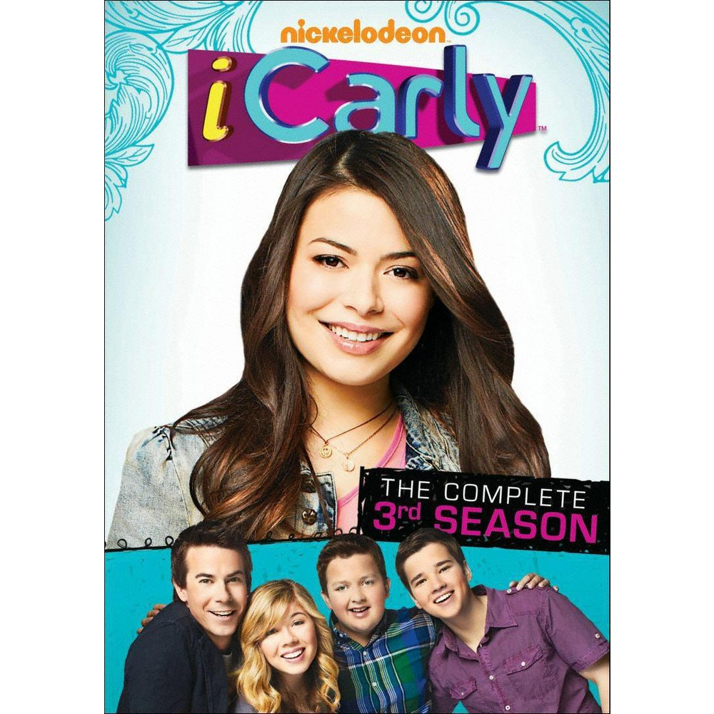 Icarly The Complete 3rd Season Dvd