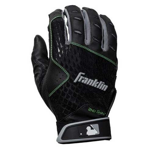 Franklin Sports MLB 2nd Skinz Batting Glove Pair Pk Assortment Youth Small - Black/White - image 1 of 4