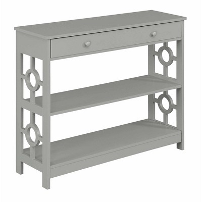 Ring 1 Drawer Console Table - Johar Furniture