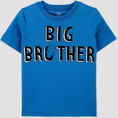 Toddler Boys' Big Brother T-Shirt - Just One You® made by carter's Blue 3T