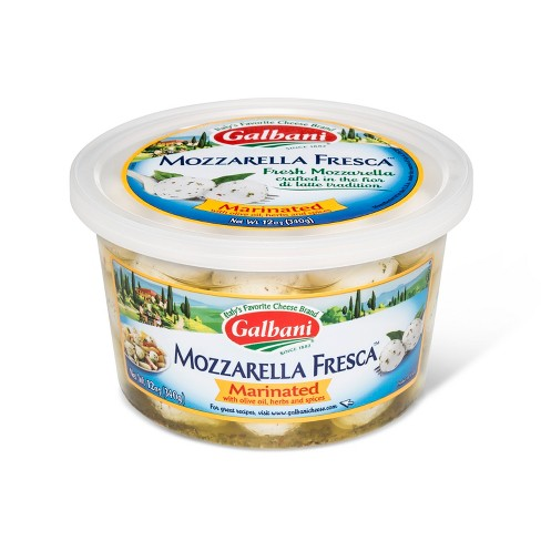 Galbani Mozzarella Cheese Fresca Marinated Mozzarella - 12oz - image 1 of 1