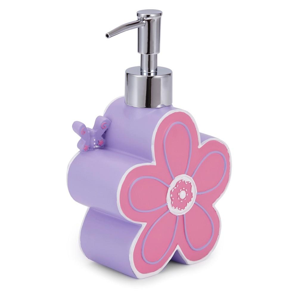 Butterfly Soap/Lotion Dispenser Purple - Kassatex