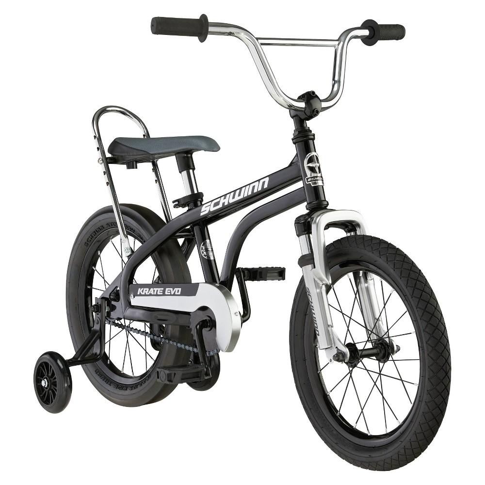 Schwinn Krate Evo 16 34 Kids 39 Bicycle Black