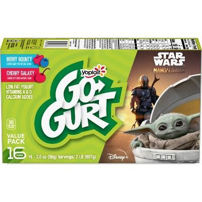 Yoplait Go-Gurt Berry and Cherry Low Fat Kids' Yogurt Tubes - 16pk/2oz Tubes
