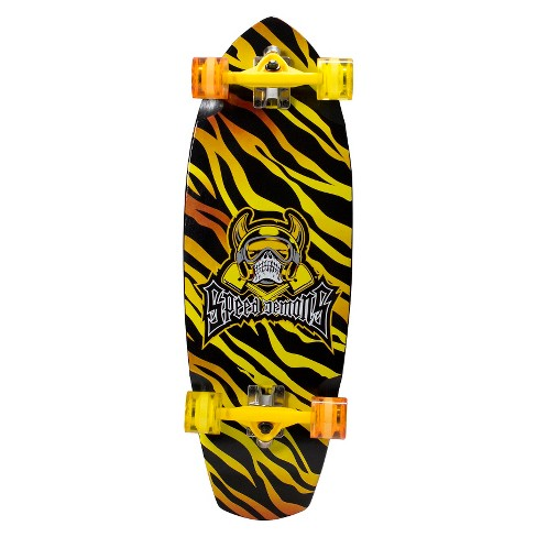 "Speed Demons Fat Cruiser Complete Skateboard (31"" x 10"" ) - Heat - image 1 of 6"