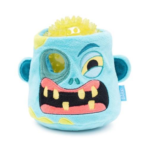 Bark Zombie Head Halloween Dog Toy - Johnny Rotten - image 1 of 4