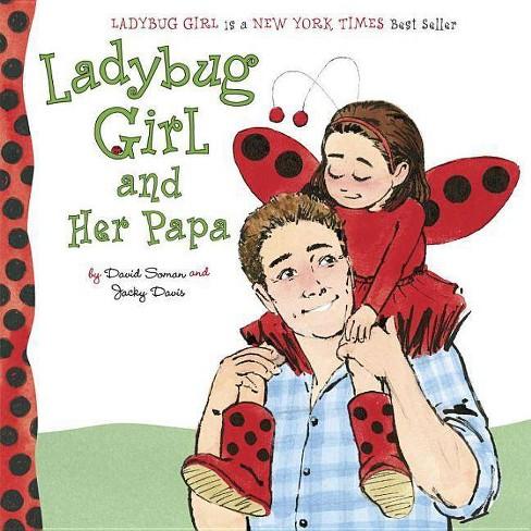 Girl Ladybug Cartoon