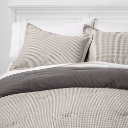 Washed Waffle Weave Comforter & Pillow Sham Set - Threshold™