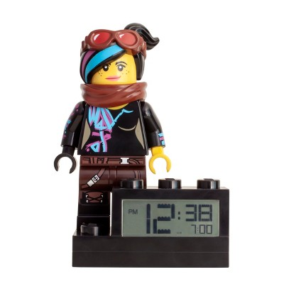 LEGO Movie 2 Wyldstyle Alarm Clock Black