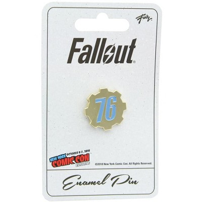Just Funky Fallout 76 Enamel Pin NYCC Exclusive