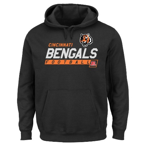 buy online ed3c3 73fc0 Cincinnati Bengals Men's Big & Tall Team Pride Fleece Pullover Hoodie  Sweatshirt - 4XL Tall