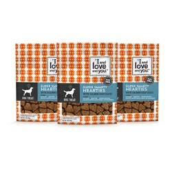 I and Love and You Super Smarty Hearties Natural Dog Treats - 3pk