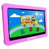 "LINSAY 10.1"" Kids Funny Tablet Quad Core Bundle with Pink Kids Defender Case 16GB - image 2 of 3"