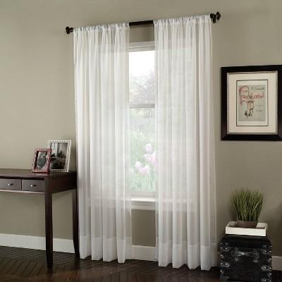 Soho Voile Curtain Panel - Curtainworks