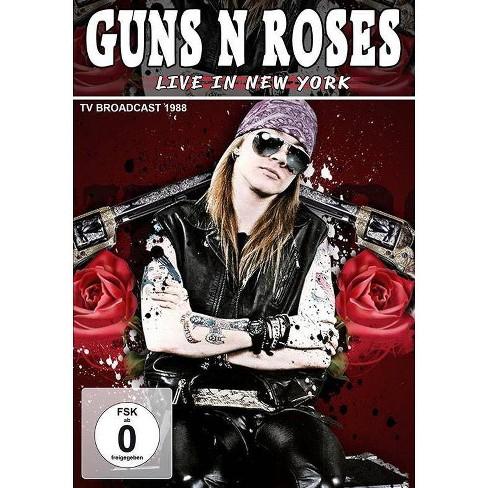 Guns N Roses: Live in New York (DVD) - image 1 of 1
