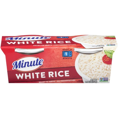 Minute® Long Grain Microwaveable White Rice Bowl - 8.8oz 2pk - image 1 of 3