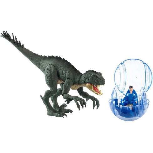 Jurassic World: Camp Cretaceous Kenji & Scorpios Rex Figures - image 1 of 4