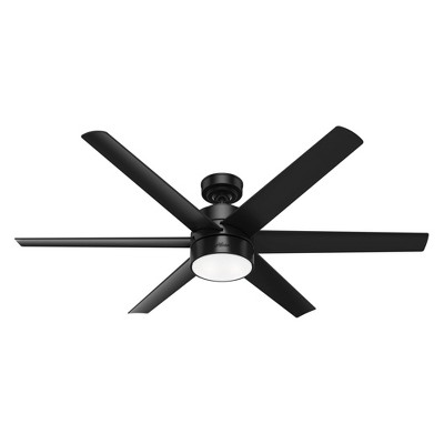 """60"""" Solaria Damp Rated Ceiling Fan (Includes LED Light Bulb) - Hunter Fan"""