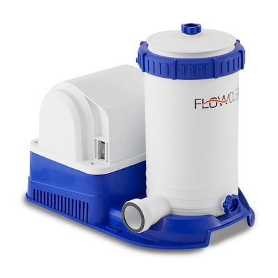 Bestway 58392E Flowclear 2500 GPH Above Ground Swimming Pool Water Filter Pump