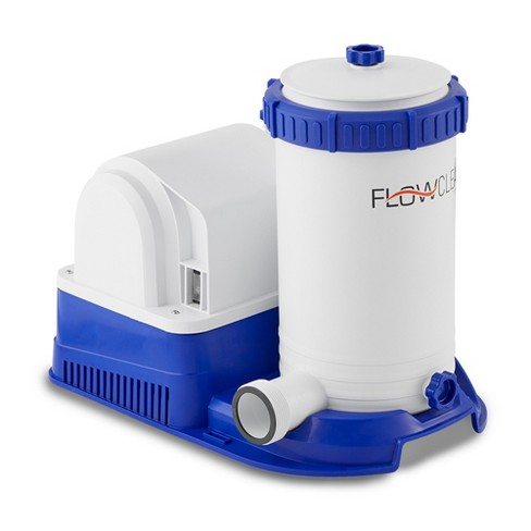 Bestway 58392E Flowclear 2500 GPH Above Ground Swimming Pool Water Filter Pump - image 1 of 4