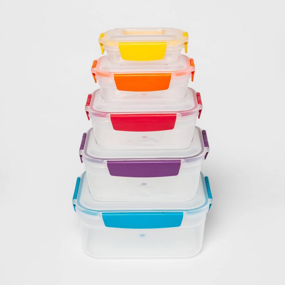 Image of Joseph Joseph 10pc Nest Lock Food Storage Container Set