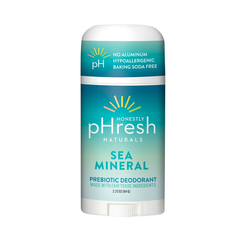 Image of Honestly pHresh Prebiotic Deodorant Sea Mineral - 2.25oz