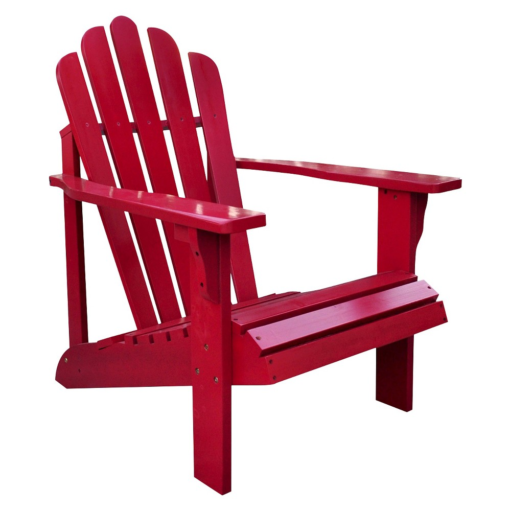 Image of Adirondack Chair - Classic Red - Shine Company