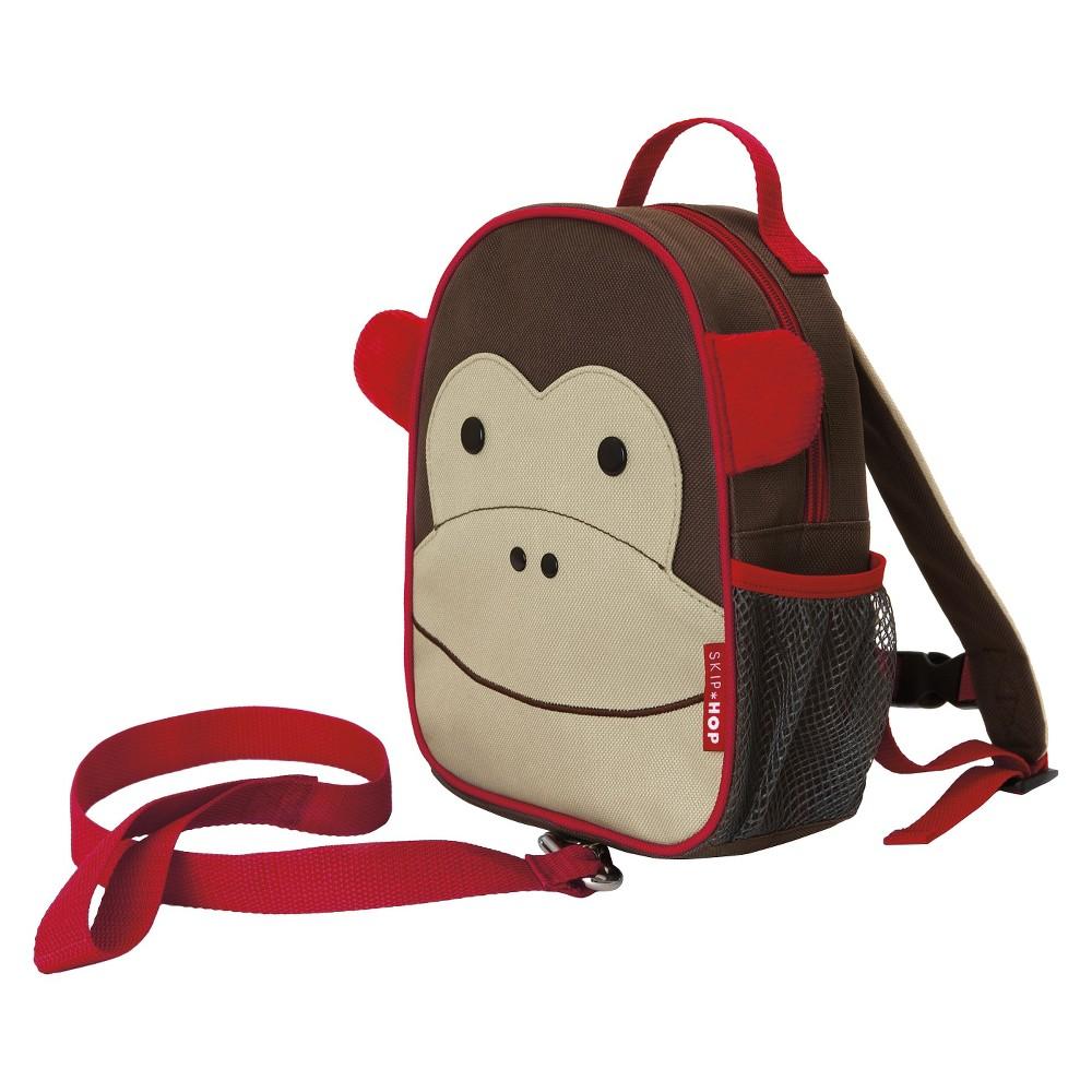 Skip Hop Zoo Little Kids & Toddler Harness Backpack, Monkey