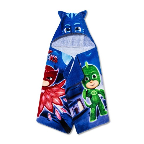 PJ Masks New Nightfall Hooded Bath Towel - image 1 of 3
