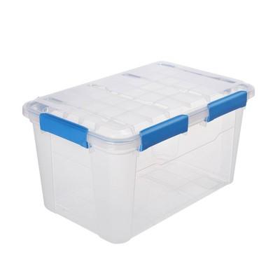 Ezy Storage 52.8qt IP67 Waterproof Storage Box