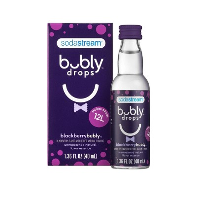 SodaStream bubly Blackberry Drops