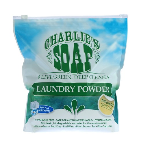 Charlie's Soap Powder Laundry Detergent - 128oz