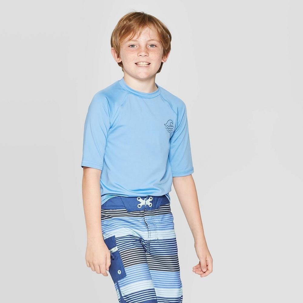 Boys 39 Short Sleeve Rash Guard Swi Shirt art class 8482