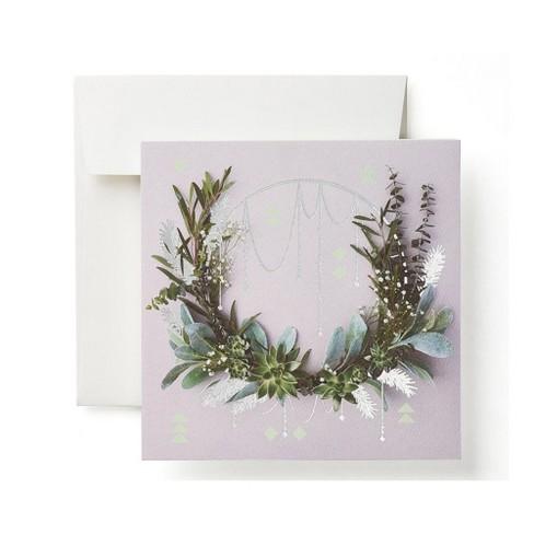 Boho Wreath Card - image 1 of 6