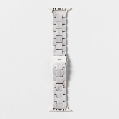heyday Apple Watch Band - Marble Resin Link