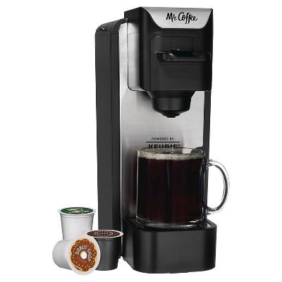 Mr. Coffee® Single Cup Coffee Maker - Stainless Steel BVMC-SC100