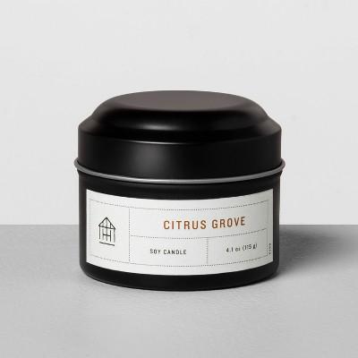 4.1oz Mini Tin Candle Citrus Grove - Hearth & Hand™ with Magnolia