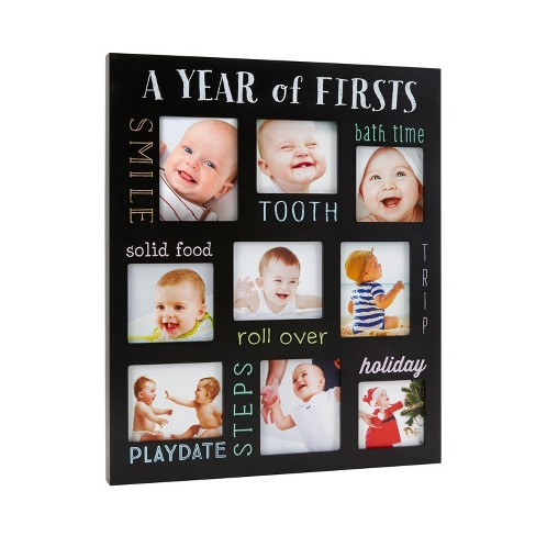 """Pearhead Chalkboard Picture Frame - """"A Year of Firsts"""" - image 1 of 4"""