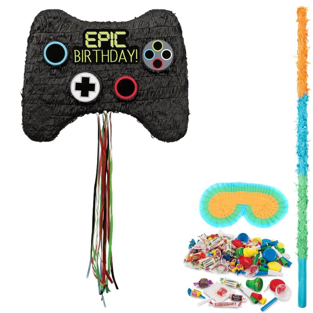 Game Controller Pinata Kit, Multi-Colored