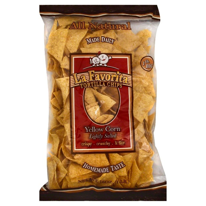 La Favorita Yellow Corn & Lightly Salted Tortilla Chips - 16 oz - image 1 of 1