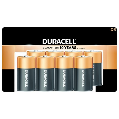 Duracell Coppertop D Batteries - 8ct - image 1 of 3