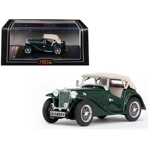 Mgtc Mg Closed Top Shire Green 1 43 Cast Model Car By Vitesse Target