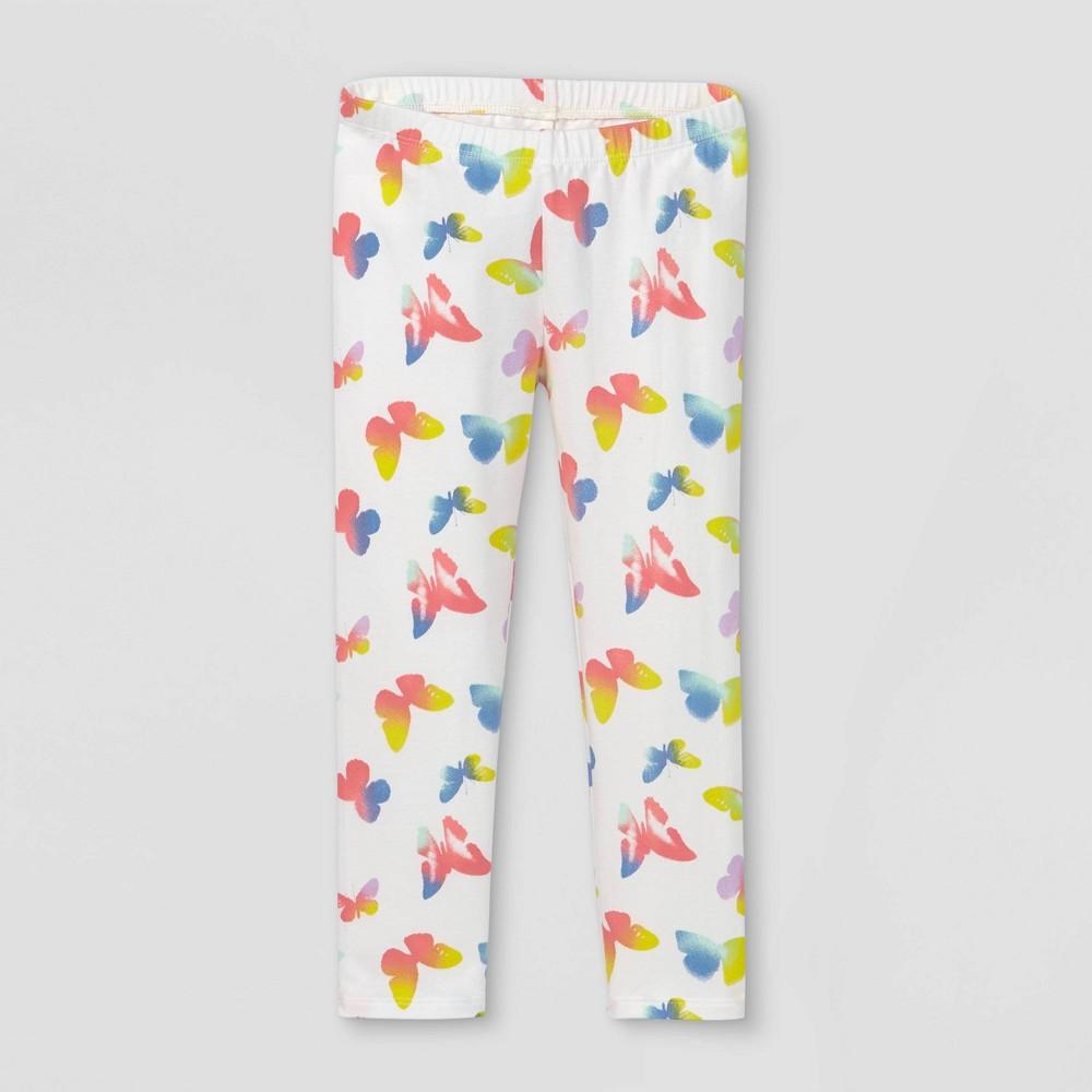 Toddler Girls 39 Butterfly Tie Dye Leggings Cat 38 Jack 8482 White 18m