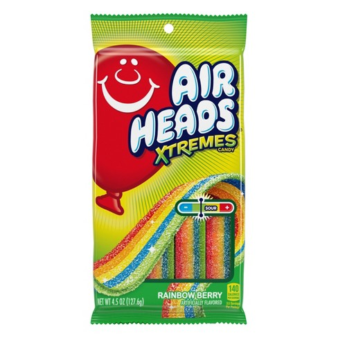 Airheads Extremes Rainbow Berry Sour Candy - 4.5oz - image 1 of 4
