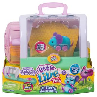Little Live Pets™ Lil' Fluffy Mouse House - Snoozles Mouse