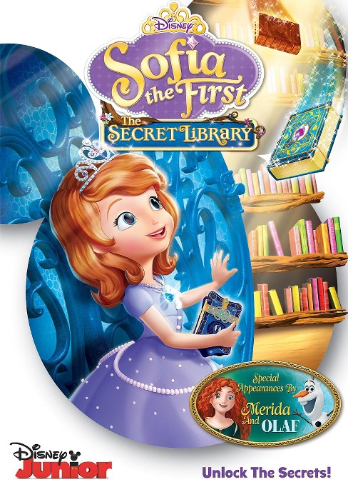 Sofia The First: The Secret Library (DVD) - image 1 of 1