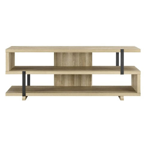 "Quincy Tv Stand For Tvs Up To 70"" Wide - Brown Oak - Room & Joy - image 1 of 9"