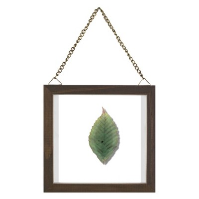 6 x6  Single Leaf Framed Wall Poster Print Green - Threshold™