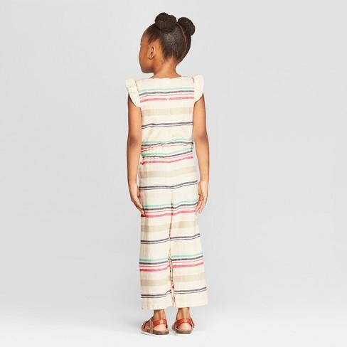 2e780c507 Genuine Kids® From OshKosh Toddler Girls' Striped Bodysuit - Cream ...
